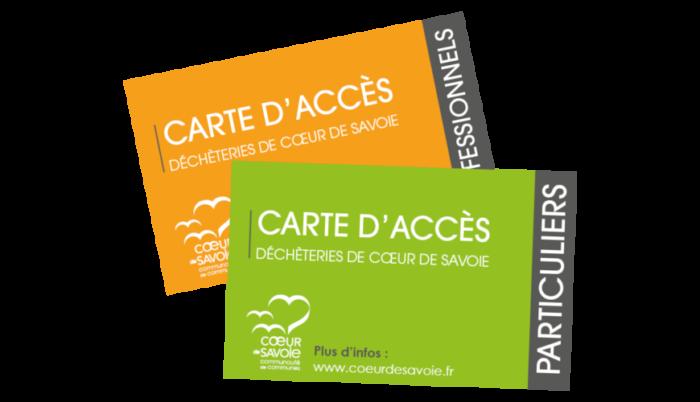 Carte d'accès déchetterie/SIBRESCA